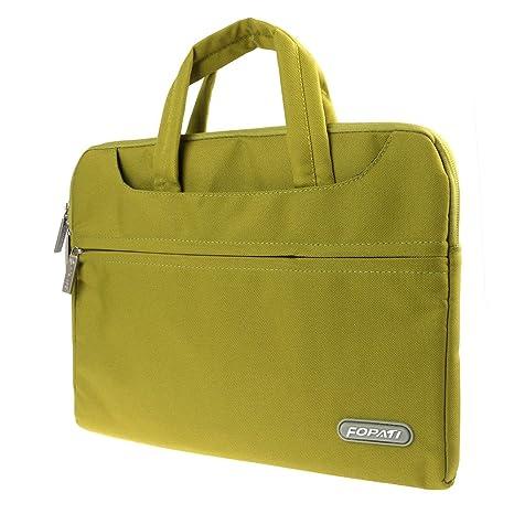 Fashion 13 pulgadas bolsa funda Hülse Computer Bag verde universal para ordenador portátil