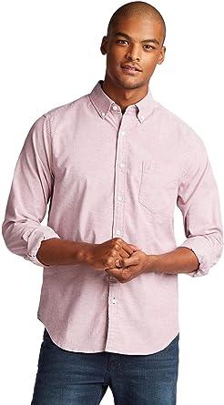 Nautica - Camisa de manga larga para hombre con botones en el ...