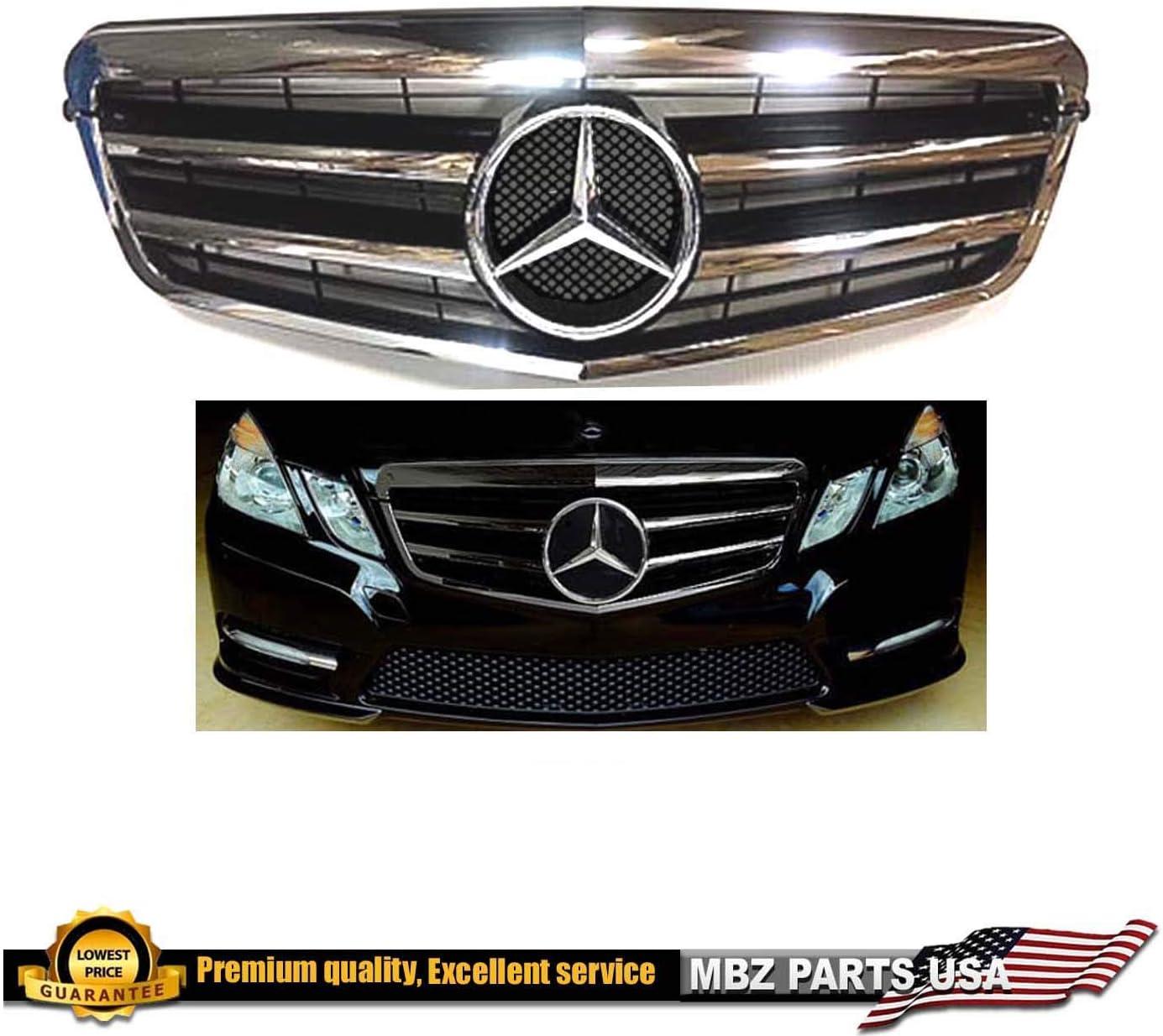 Mercedes Benz E350 E550 2010 2011 2012 2013 Genuine Mercedes Bumper Cover Grille