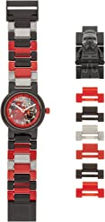 Lego Boys Analogue Quartz Watch with Plastic Strap 8020998