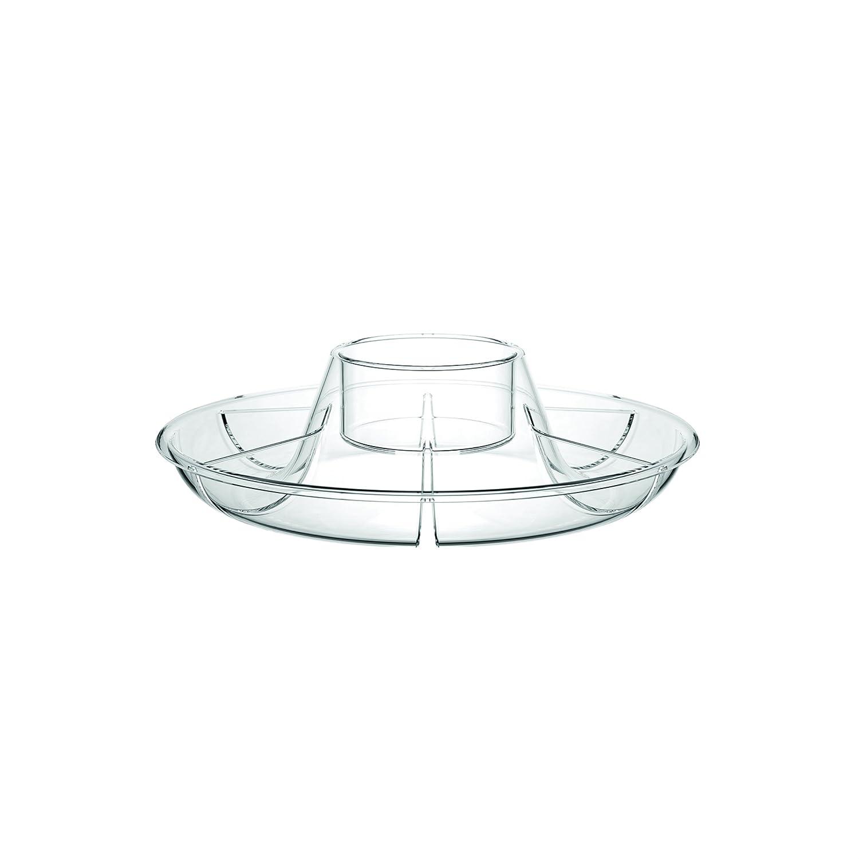 Bodum Bistro Chip n Dip Set, Plastic - Transparent 11631-10B