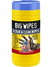 Big Wipes BGW2020 Toallitas Antibacterias Industriales, 80 Unidades