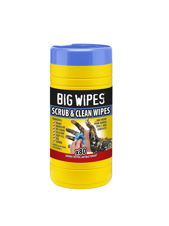 Big Wipes BGW2020 Panni Pulitori Professionali, 80 Pezzi
