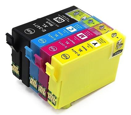 4 x Cartuchos de impresora compatible para Epson 34 x l ...