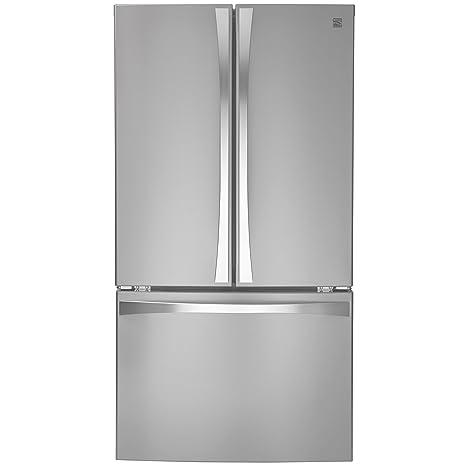 Merveilleux Kenmore 04674015 Elite 30.6 Cu. Ft. French Door Bottom Freezer Refrigerator  With Active Finish