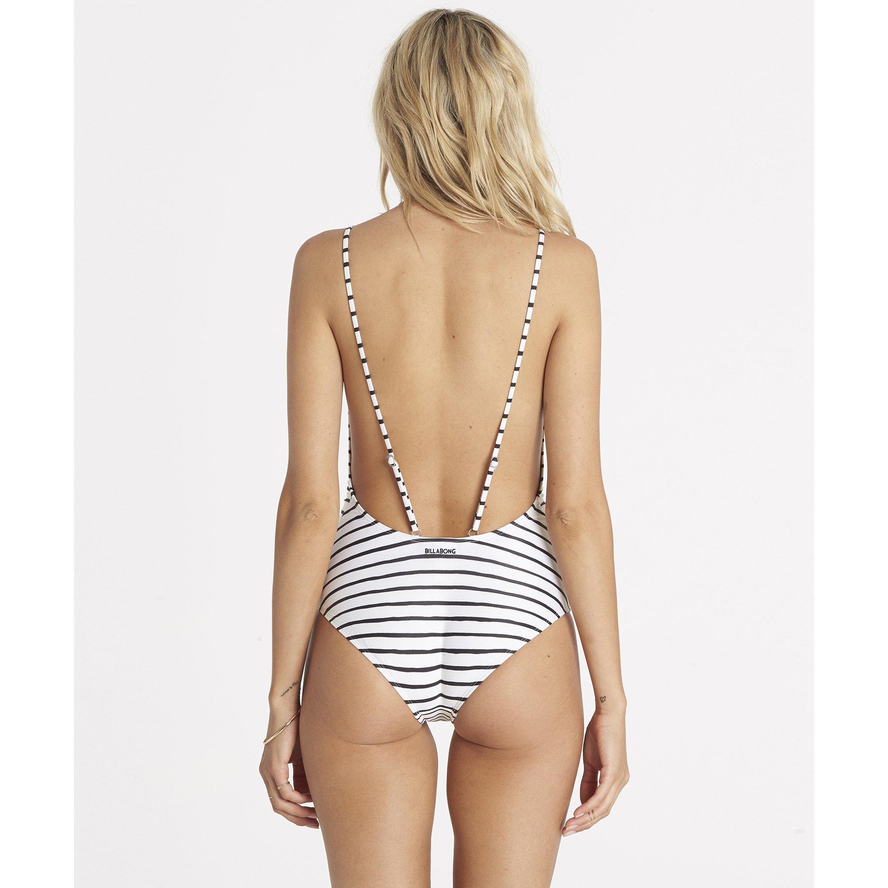 Billabong Women's Island Time One Piece Swimsuit, Seashell, M by Billabong (Image #2)