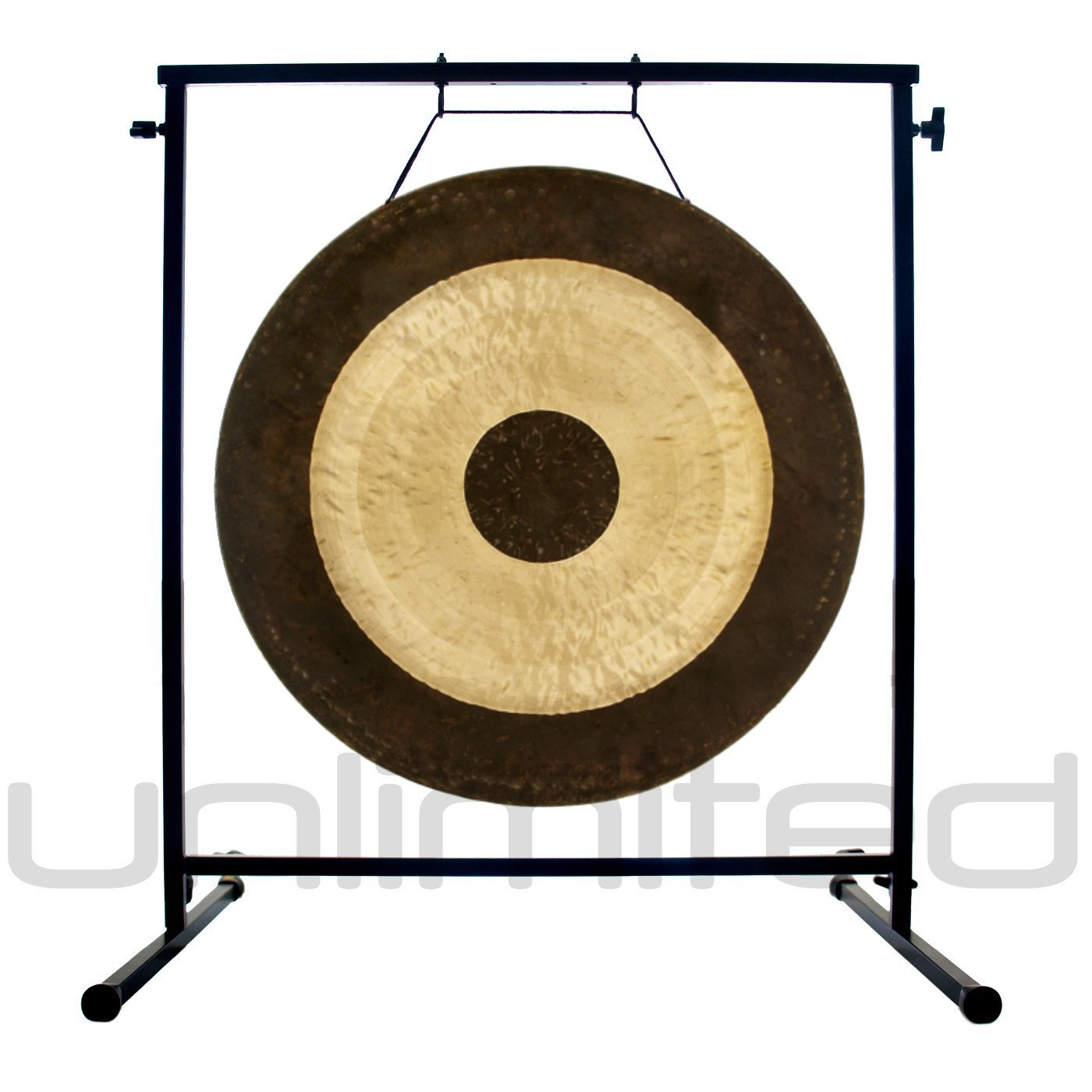20'' to 26'' Gongs on the Fruity Buddha Gong Stand by Unlimited