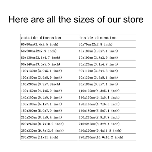 for Store HDD SSD RAM Laptop Hard Drives Memory Card Electronic Devices 25pcs 140x150mm//5.5x6 inch Protective Antistatic Bag sourcing map Anti Static Resealable Shielding Bag
