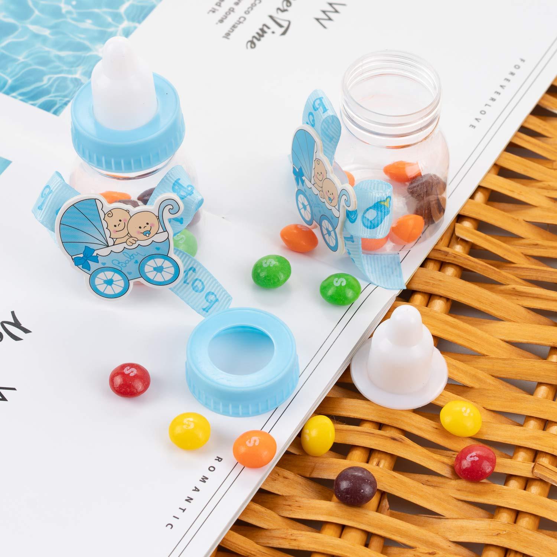 QILICZ - Juego de 24 botellas en caja de regalo para bautizo ...