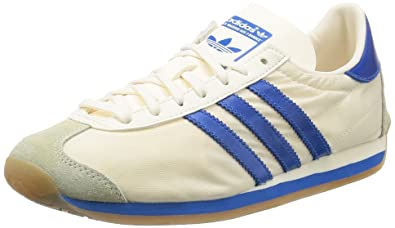 bas prix 47a75 2615b Adidas Country OG S32107 in White/Bluebird/White: Amazon.co ...