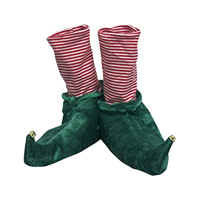 Wishpets Holiday Elf Slippers Plush Bootie Toy | Slippers