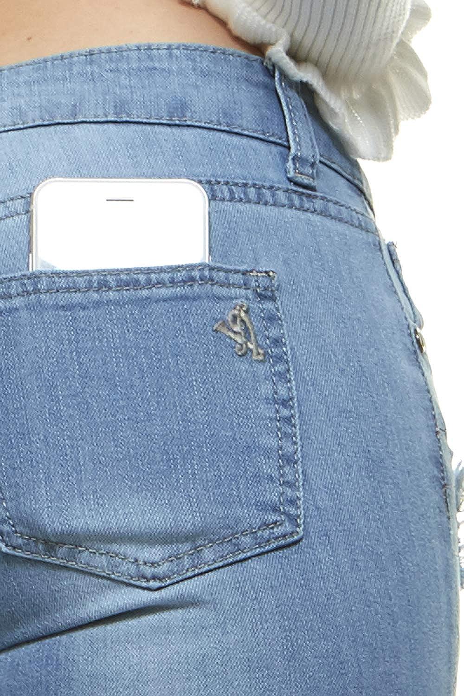 Amazon.com: Pantalones vaqueros para mujer de talla grande ...