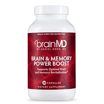 Dr Amen Brainmd Health Brain Memory Power Boost Dietary Supplement To Support And Maintain