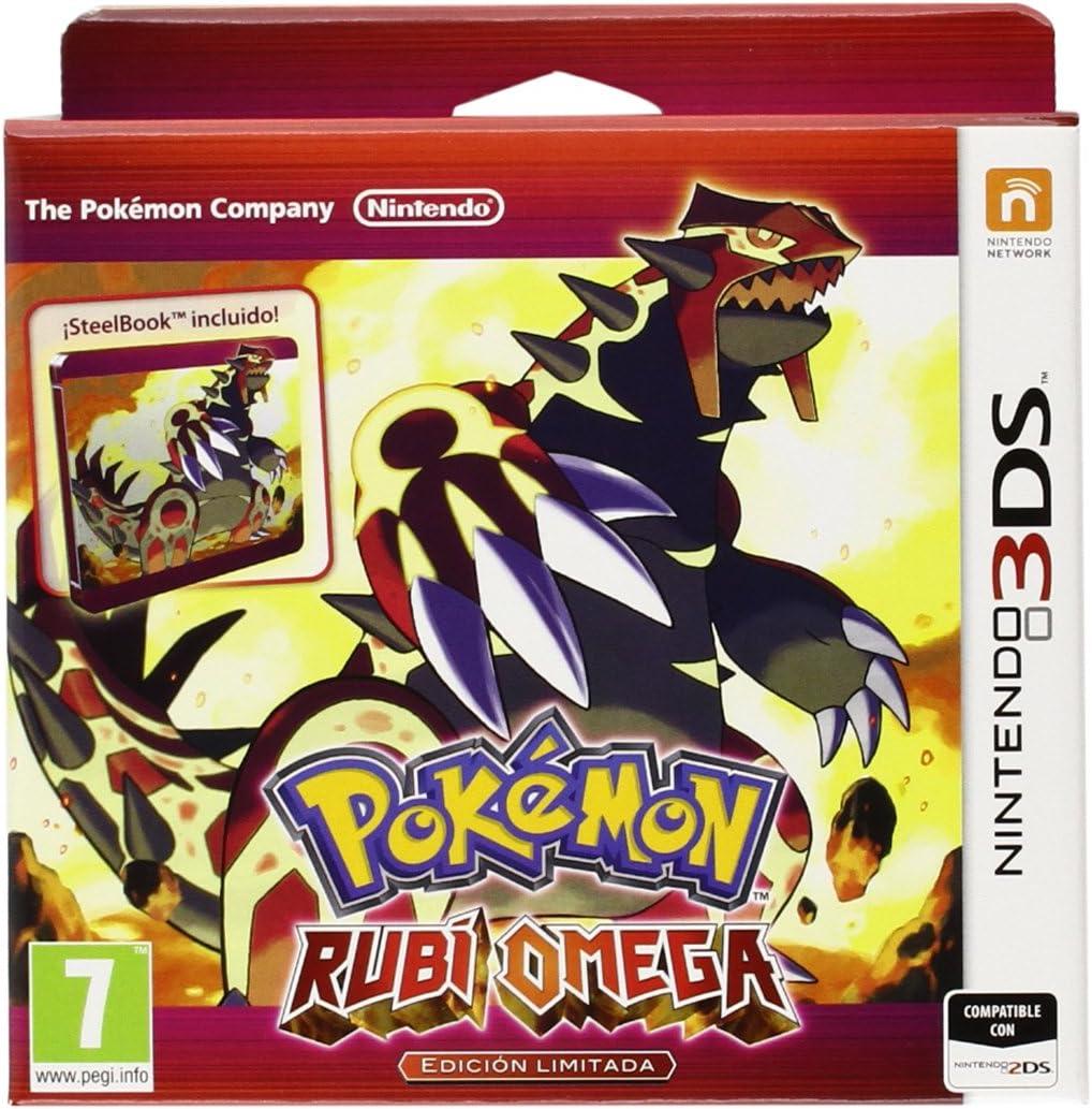 Pokémon Rubí Omega - Steelbox Edición Limitada