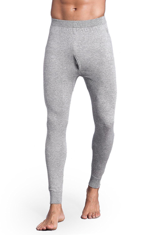Ultra-Soft Mens Merino Wool Base Layer 织礼 Zhili Thermal Leggings Heavyweight