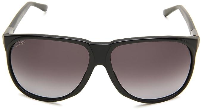 Amazon.com: Gucci de los hombres GUCCI 1002/S rectangular ...