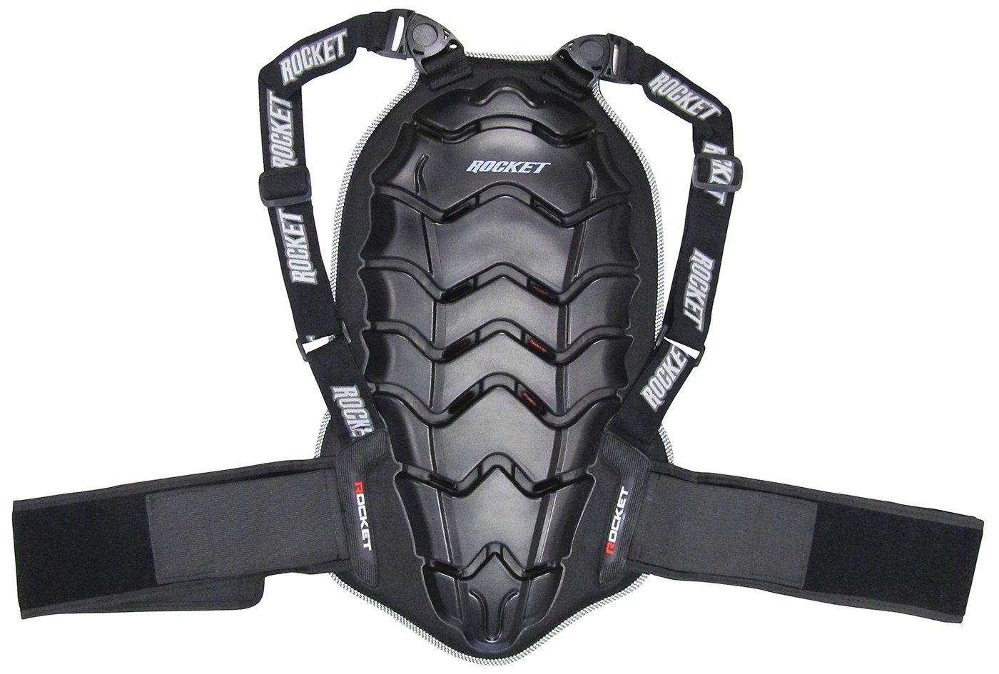 Joe Rocket Speedmaster 2.0 Back Protector (Black, Large)