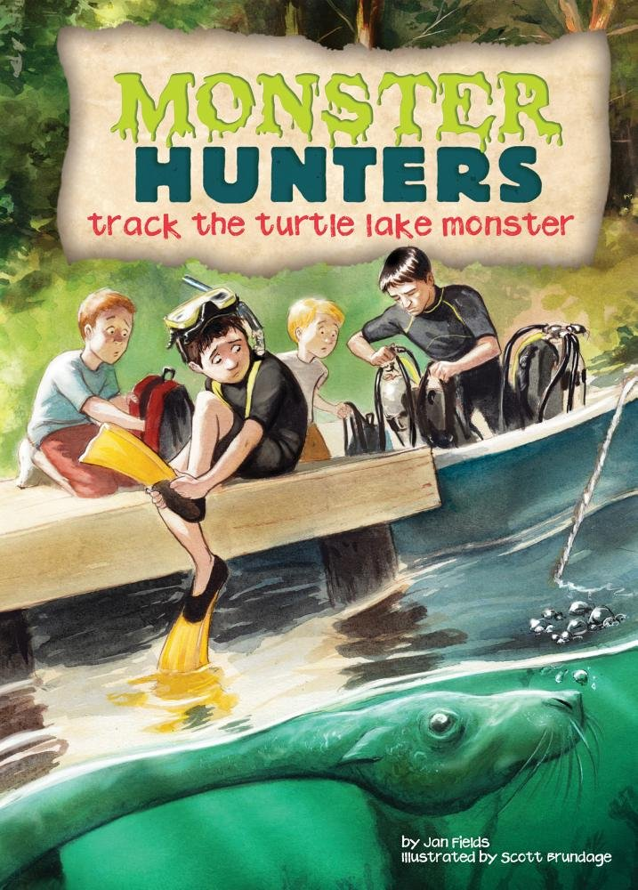 Track the Turtle Lake Monster (Monster Hunters) PDF