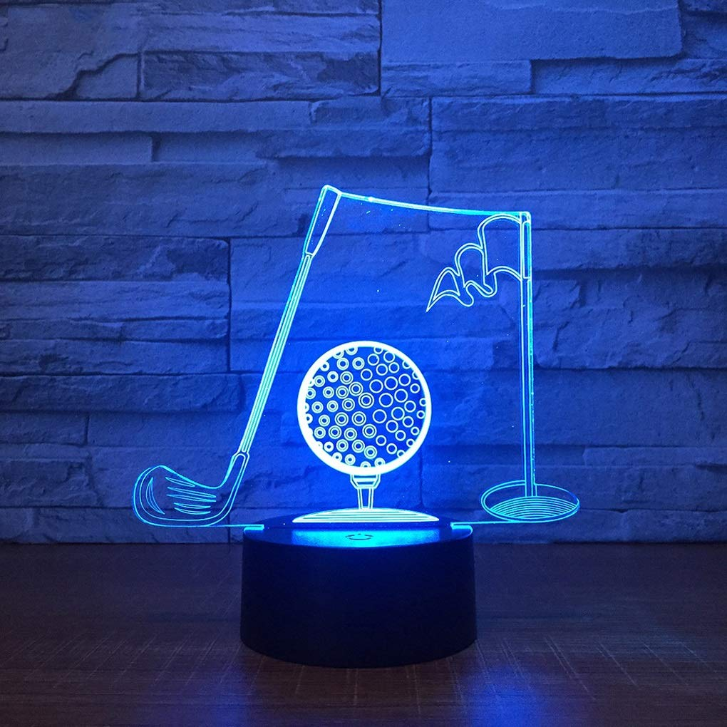 Luz de noche para niños Ilusión 3D Luz nocturna