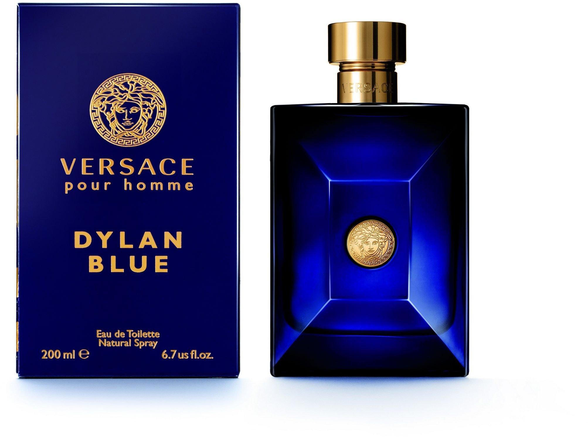 VERSACE Dylan Blue Pour Homme Eau De Toilette Spray Box Sealed, 6.7 Ounce by Versace (Image #4)