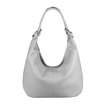 1b5cf534acaf1 OBC Made in Italy Damen XXL Leder Shopper Tasche Schultertasche Damentasche  DIN-A4 Umhängetasche Beuteltasche