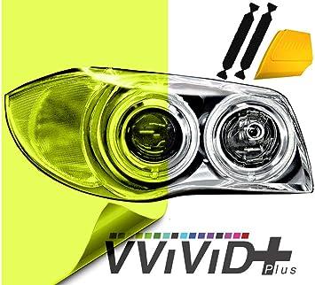"VViViD Air-Tint Extra-Wide Headlight Taillight Vinyl Tint Wrap 16/"" x 48/"" Roll In"
