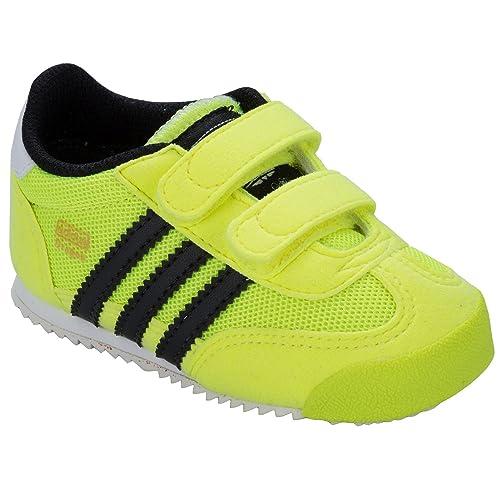 bf6098408 adidas - Zapatos Primeros Pasos de Material Sintético para niño Verde  Verde  adidas Originals  Amazon.es  Zapatos y complementos