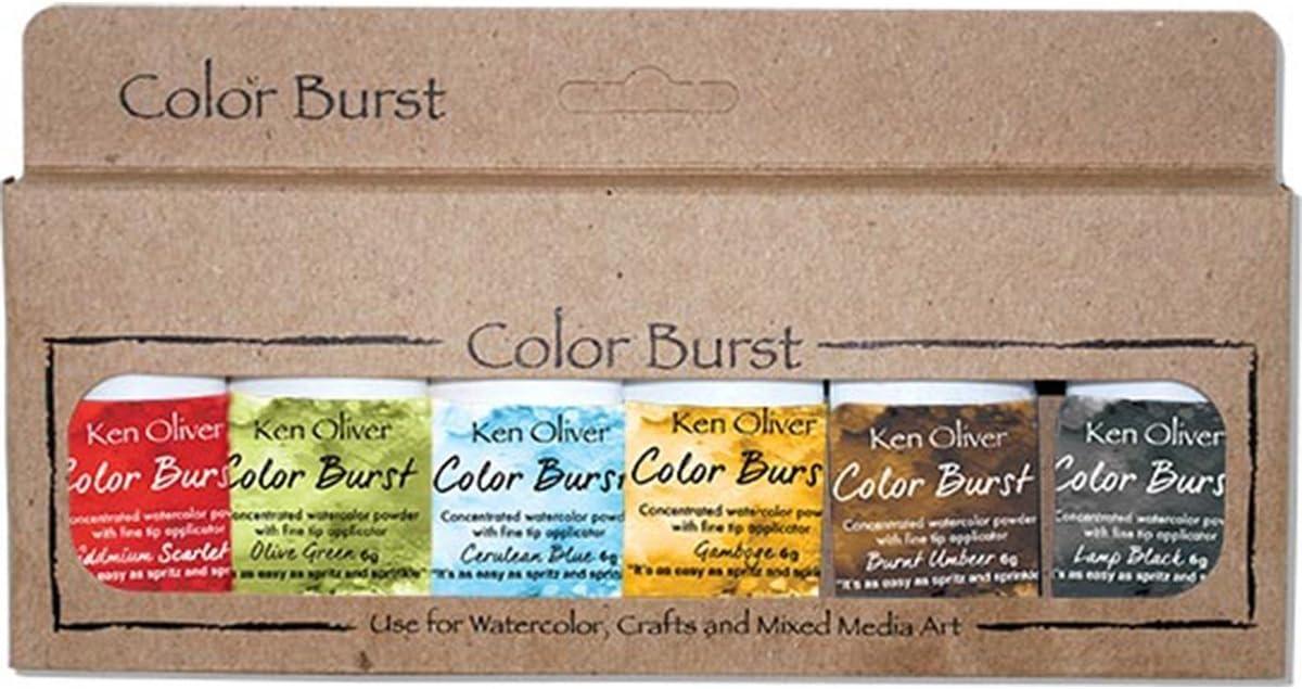 Ken Oliver KN07243 Color Burst Powder 6gm-Naples Yellow