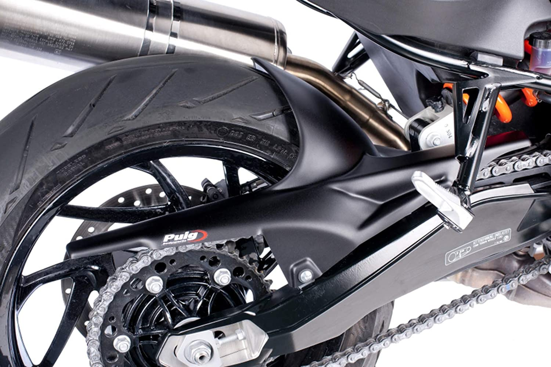 Puig 7621N Black Rear Exhaust Deflector BMW R1200Gs 04-12//Adventure06-13