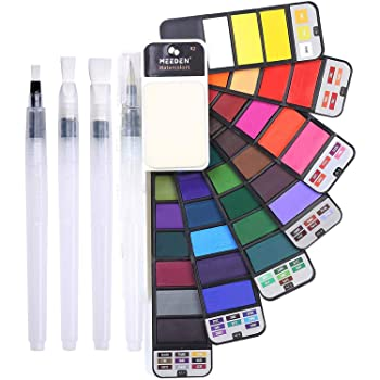 MEEDEN 42 Colors Watercolor Paint