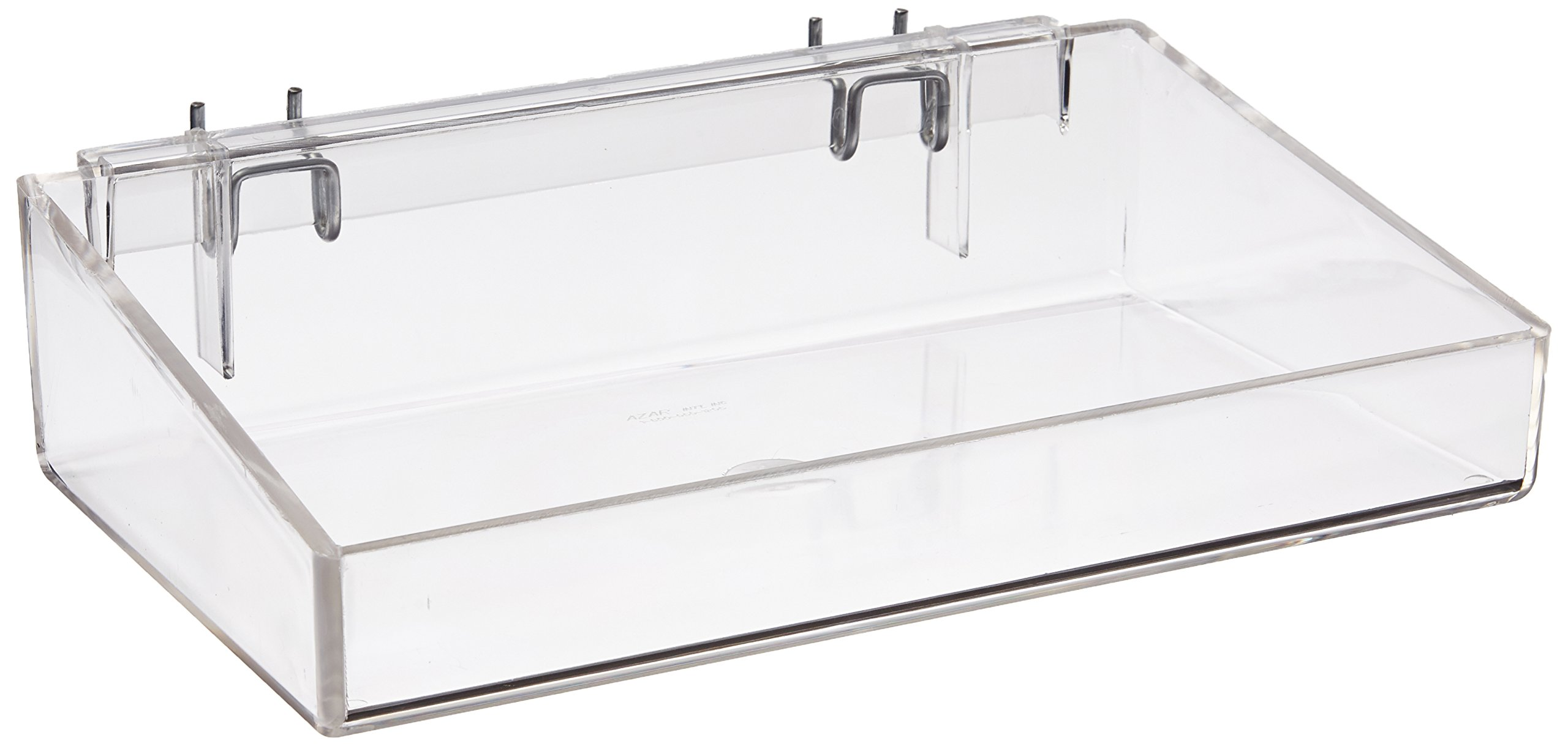 Azar Displays 556085 12'' Open Tray (2 Pack)