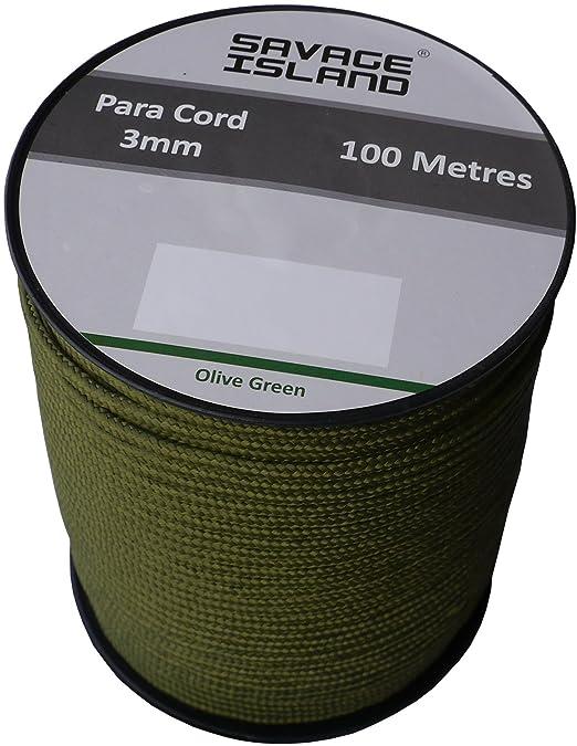 42 opinioni per Paracord bobina da 100mt color verde, nero, rosso coyote e rosso, stile esercito