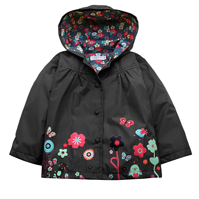 Amazon.com: Arshiner - Chaqueta impermeable con capucha para ...
