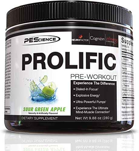 PEScience Prolific Pre Workout Powder