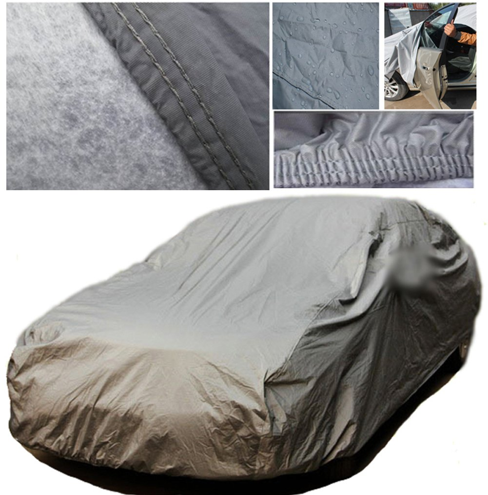 A-Express® Medium M Heavy Duty 100% Waterproof Breathable Full Car Cover