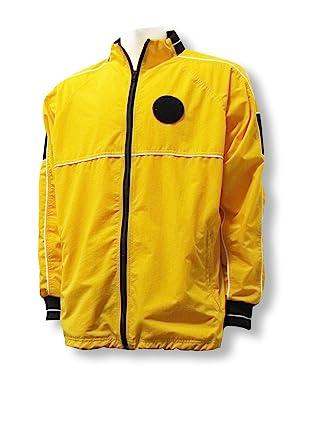 c0b9505c2 Amazon.com: Soccer Referee Water-Resistant Jacket: Clothing