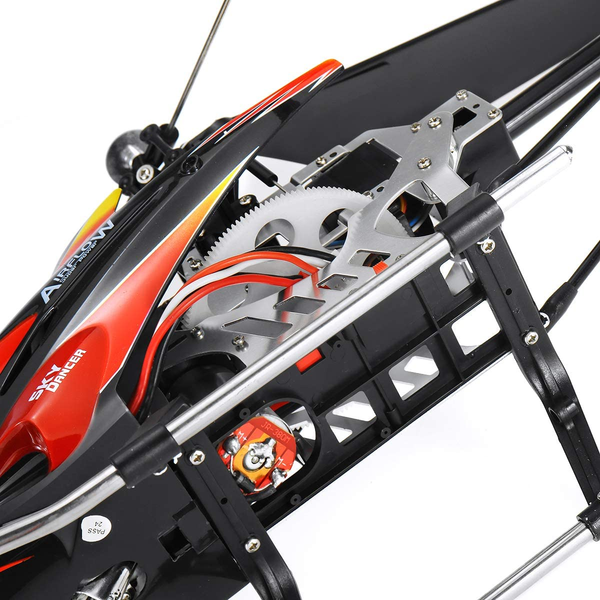 Wltoys V913 Large 27 2.4G 4CH Single Blade Built-in Gyro RC Helicopter RTF