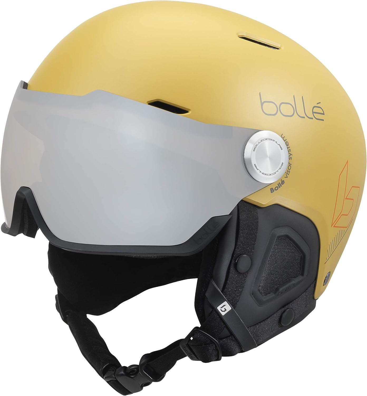 Boll/é Might Visor Skihelme Yellow Unisex-Erwachsene 59-62 cm