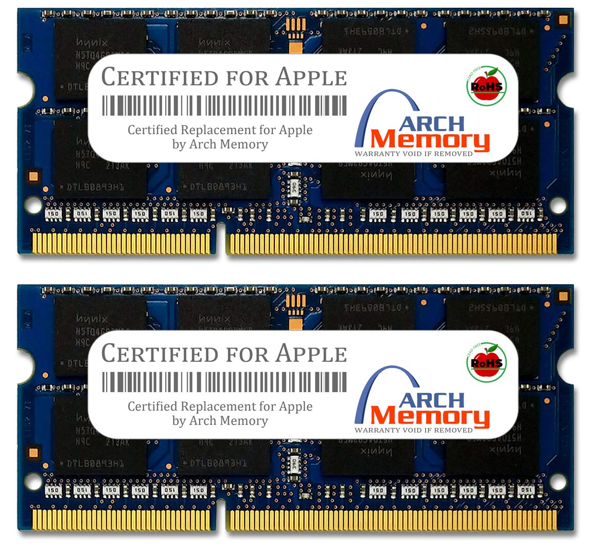 Arch Memory Replacement for Apple 4 GB (2 x 2 GB) 204-Pin DDR3 So-dimm RAM for MacBook Pro MB786G/A by Arch Memory