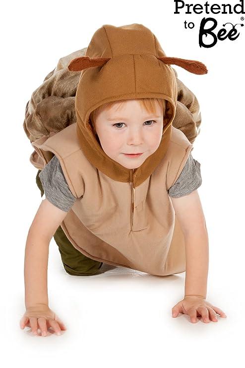 Snail Fancy Dress Costume 3,7 Years