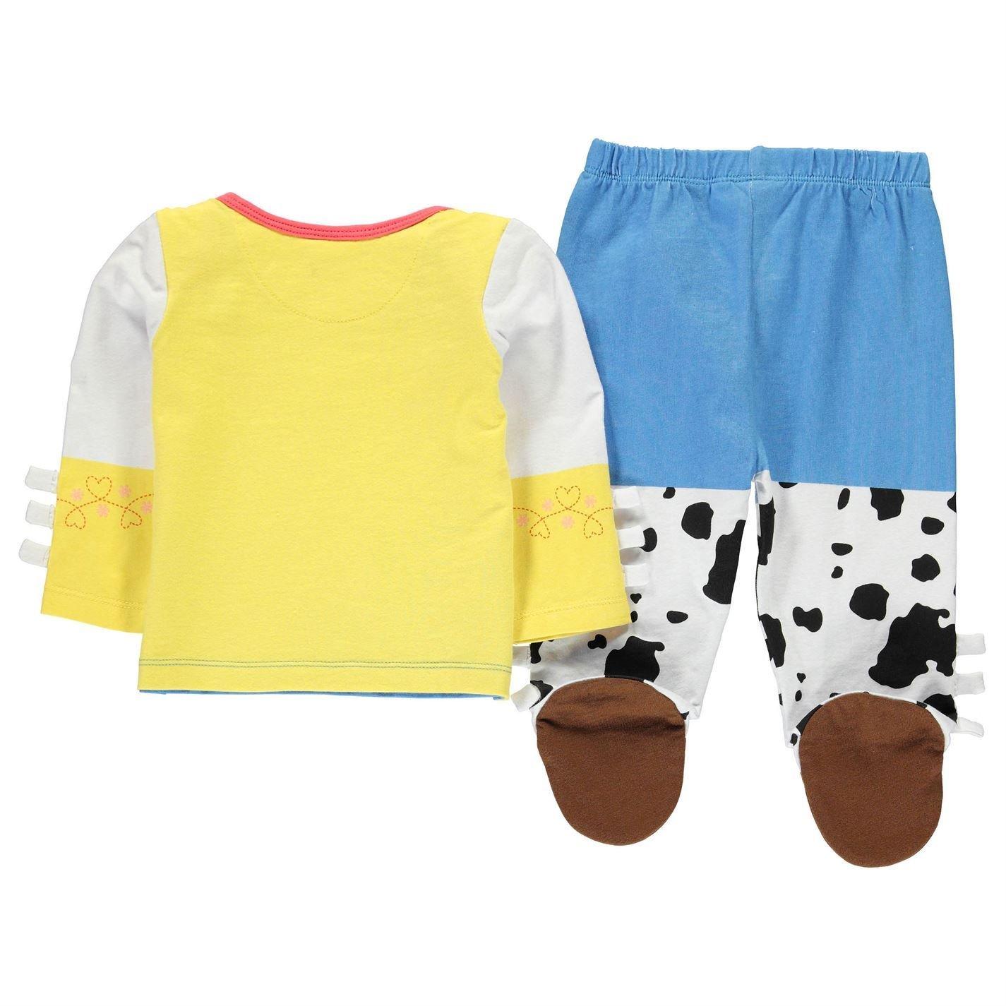 Disney Toy Story Jessie 2 Piece Pyjama Set Infant Baby Blue//Wht Pajama Sleepwear