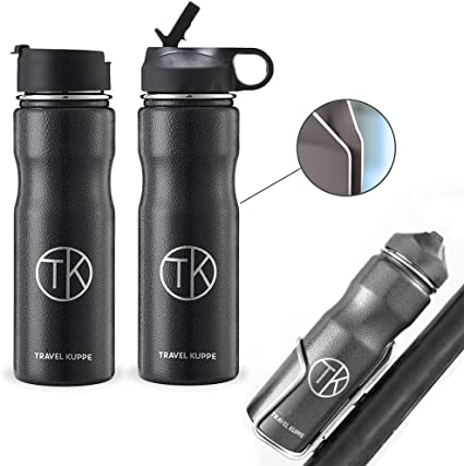 2018 New Travel Bike Bicycle Vacuum Flask Office Stainless Steel Water Bottle
