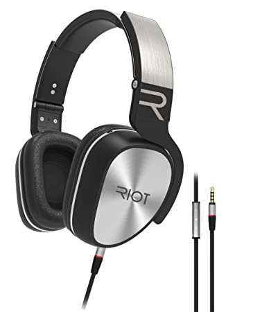 Amazon.com: Riot Project Wired Headphones with Noise Isolating ...