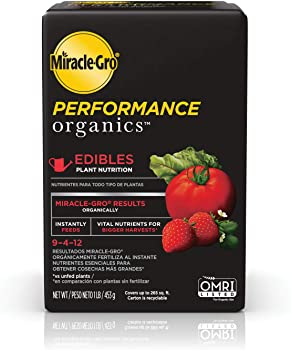 Miracle-Gro Performance Organics Edibles Plant Fertilizer For Fruit Trees