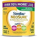 Similac NeoSure Infant Formula with Iron, For Babies Born Prematurely, Powder,