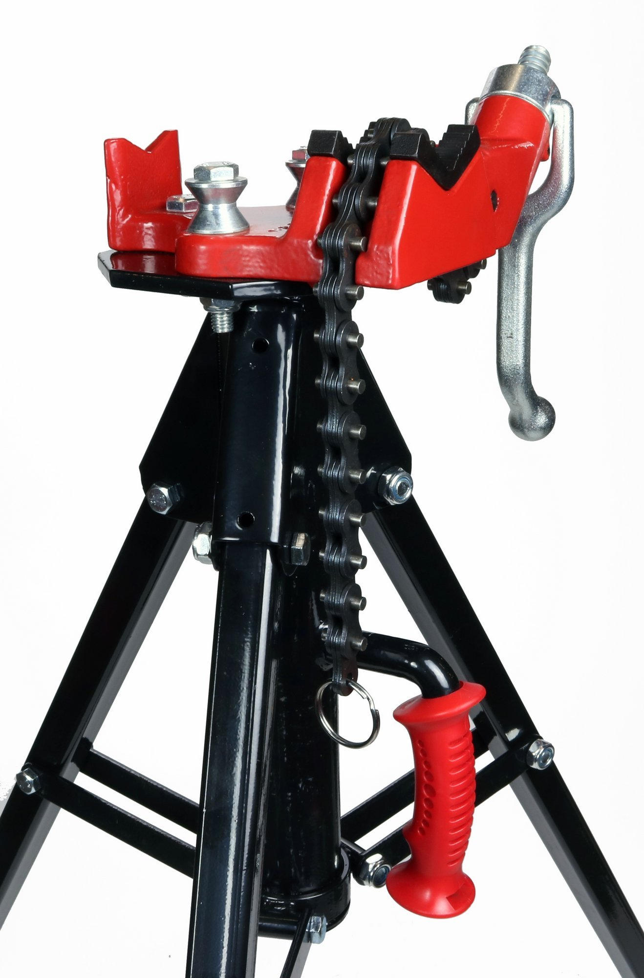 Toledo Pipe 425 Stand Portable Tripod Chain Vise works with RIDGID 12R 700 Pipe Threader by Toledo Pipe Tools (Image #2)