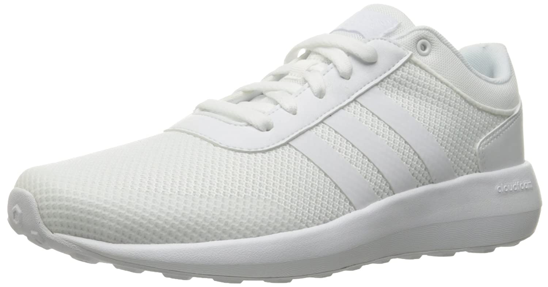 adidas cloudfoam race white