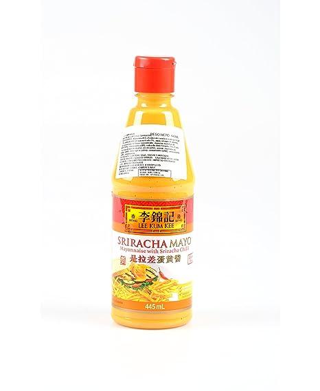 LEE KUM KEE Salsa Chili Sriracha con Mayonesa Ideal para Acompañar tus Fritas, Platos y