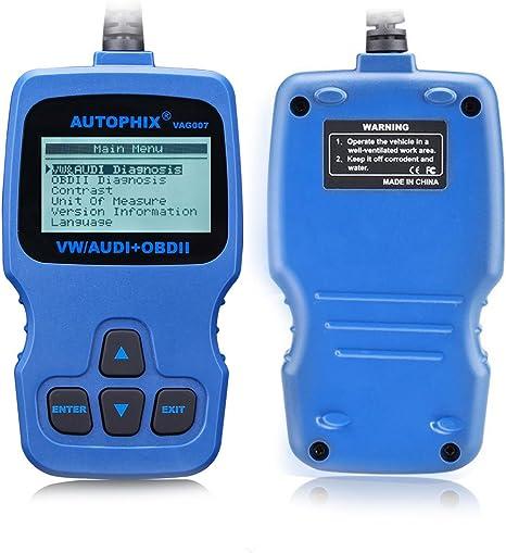 Autophix Vag007 Diagnosegerät Eobd Obd2 Motor System Code Lesen Scanner Auto Unterstützung Vw Audi Seat Skoda Alle Systeme Auto