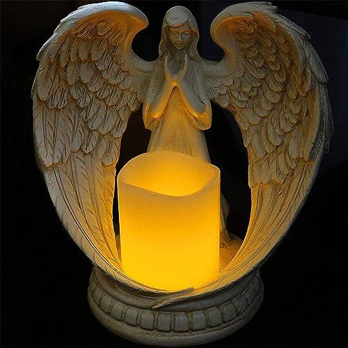 GoldCistern 6.30in Angel Figurines